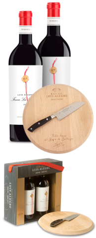 La Reñana Reserva + Oak Board and Knife
